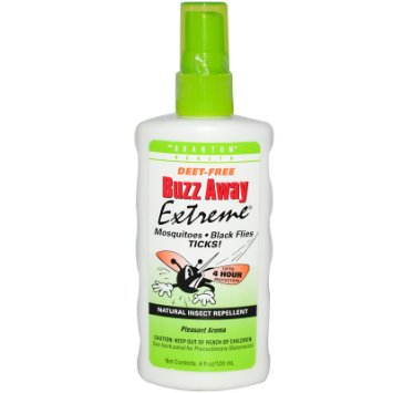 Quantum Research Insect Repellent  Buzz Away  Display  1 Case