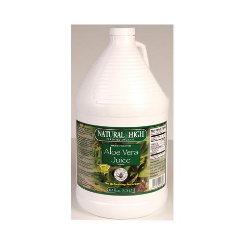 Natural High Aloe Vera Juice (4x1 Gallons)