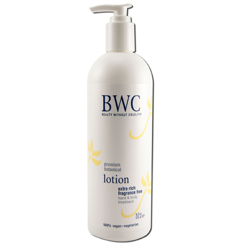 Beauty Without Cruelty Extra Rich Hand And Body Lotion Fragrance Free (16 fl Oz)