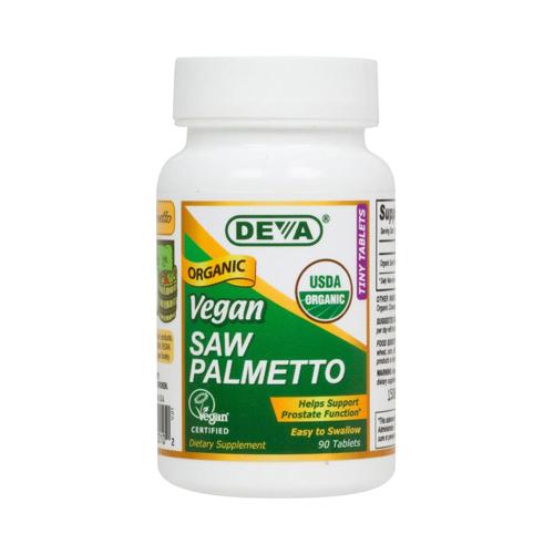 Deva Vegan Vitamins Vegan Saw Palmetto 490 Mg (1x90 Tablets)