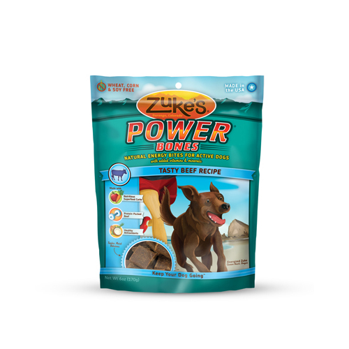 Zuke's Powerbones Beef 6 Oz