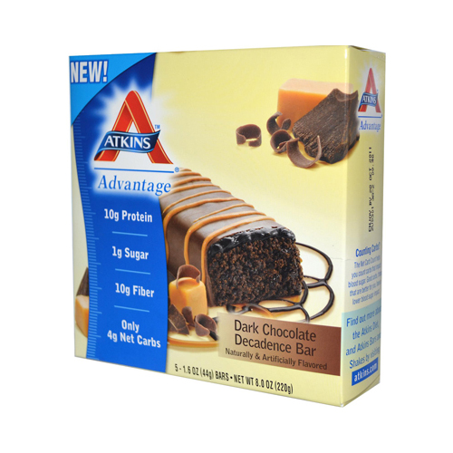 Atkins Advantage Bar Dark Chocolate Decadence (1x5/1.6 Oz)