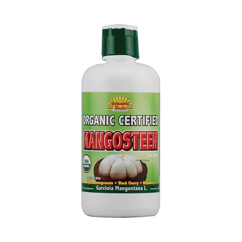 Dynamic Health Organic Certified Mangosteen Juice Blend (33.8 fl Oz)