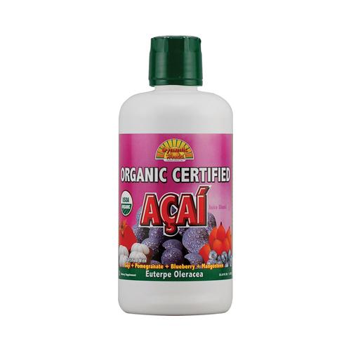 Dynamic Health Organic Certified Acai Berry Juice Blend (33.8 fl Oz)
