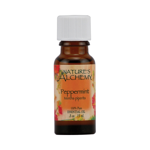 Nature's Alchemy 100% Pure Essential Oil Peppermint (0.5 fl Oz)
