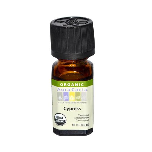 Aura Cacia Organic Essential Oil Cypress (1x0.25 Oz)