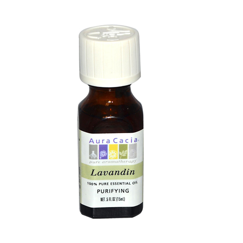 Aura Cacia Pure Essential Oil Lavandin (0.5 fl Oz)