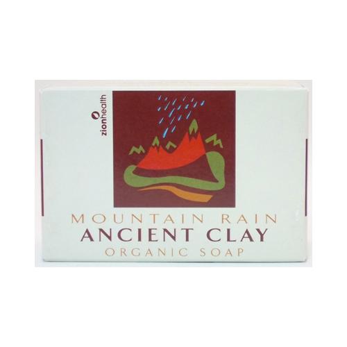 Zion Health Clay Soap Mountain Rain 6 Oz