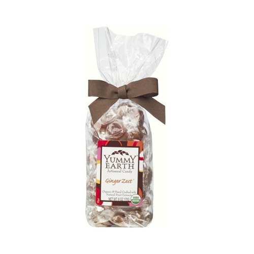 Yummy Earth Organic Candy Drops Ginger Zest 6 Oz