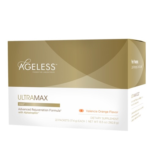 Ageless Foundation UltraMAX Gold with Alphatrophin Valencia Orange (1x22 Packets)
