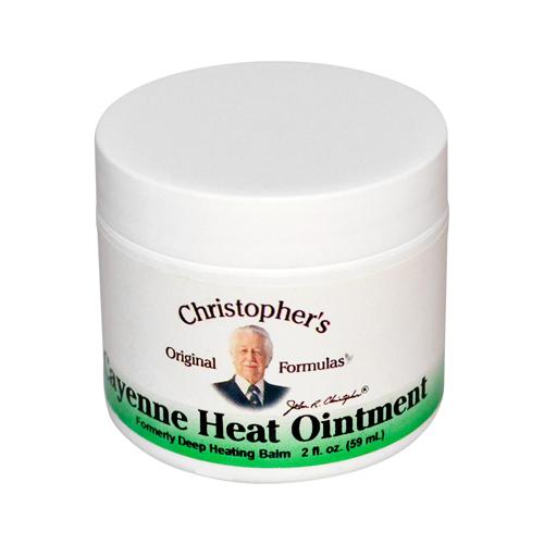 Dr. Christopher's Cayenne Heat Ointment 2 fl Oz