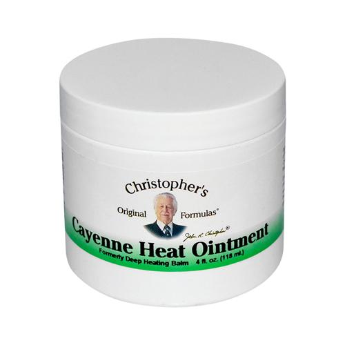 Dr. Christopher's Cayenne Heat Ointment (4 fl Oz)