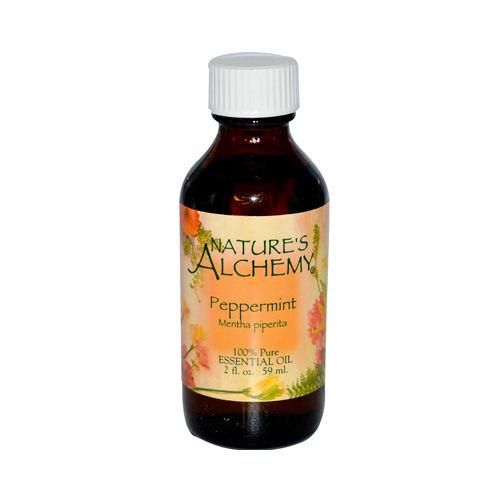Nature's Alchemy 100% Pure Essential Oil Peppermint 2 fl Oz