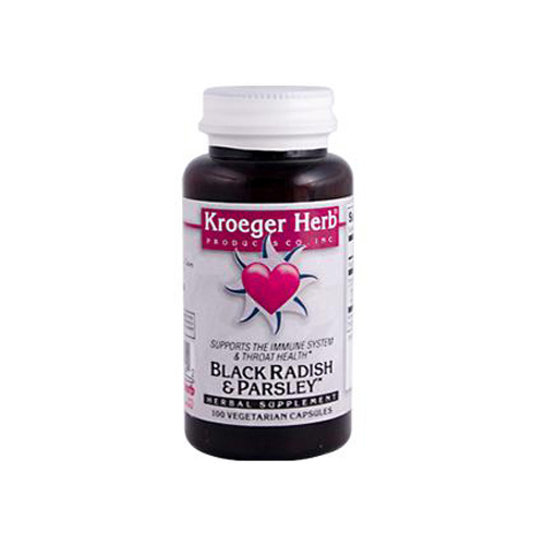 Kroeger Herb Black Radish and Parsley (100 Capsules)