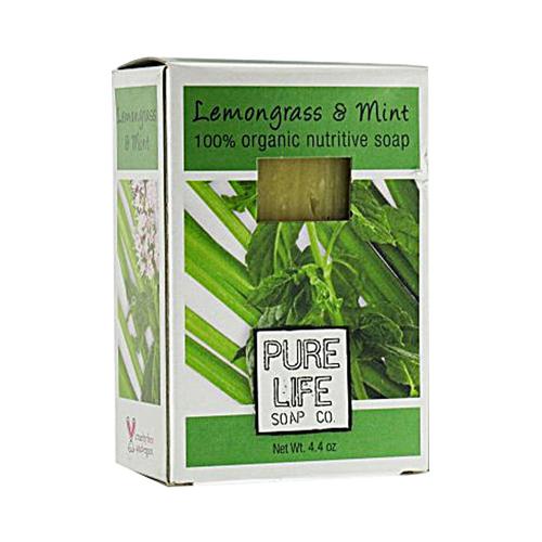 Pure Life Soap Lemongrass and Mint (1x4.4 Oz)