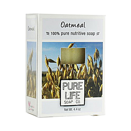 Pure Life Soap Oatmeal (1x4.4 Oz)