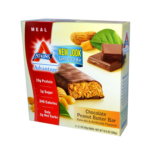 Atkins Advantage Bar Chocolate Peanut Butter (1x5 Bars)