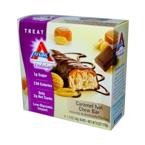 Atkins Endulge Bar Caramel Nut Chew (1x5 Bars)