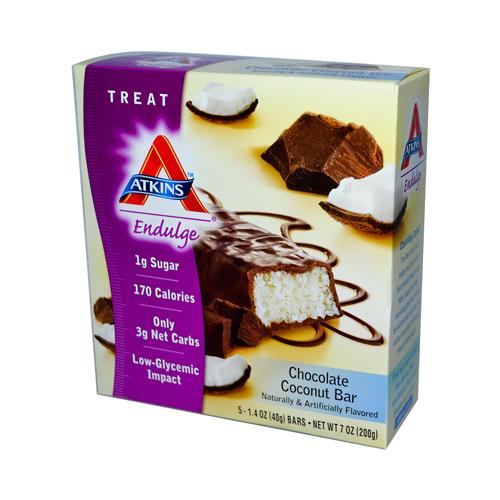 Atkins Endulge Chocolate Coconut Bar (1x5/1.4 Oz)
