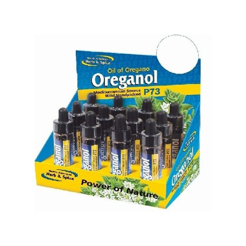 North American Herb and Spice Display Travel Oreganol (12 Pack) .25 Oz