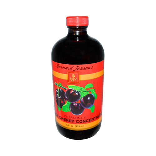 Bernard Jensen Black Cherry Concentrate Extra Quality (16 fl Oz)