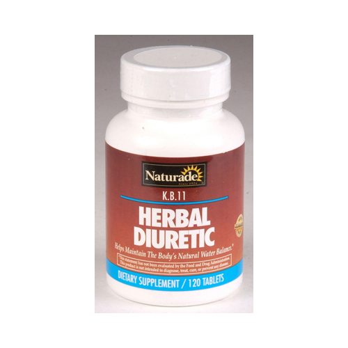 Naturade KB 11 Herbal Diuretic (1x120 Tablets)