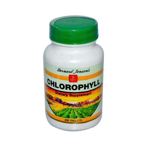 Bernard Jensen Chlorophyll (1x200 Tablets)