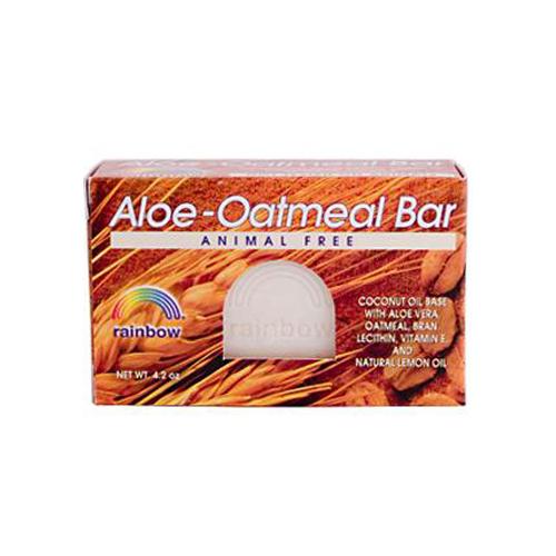 Rainbow Research Bar Soap Aloe Oatmeal 4 Oz