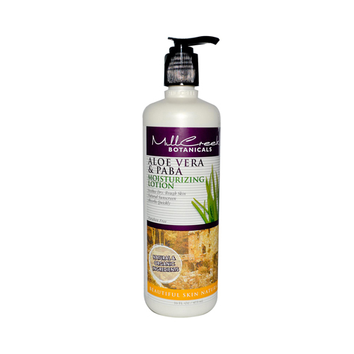 Mill Creek Aloe Vera and PABA Moisturizing Lotion (16 fl Oz)