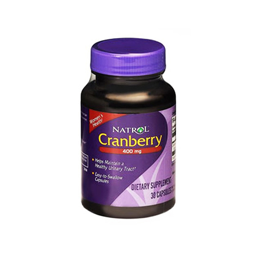 Natrol Cranberry Extract 400 mg (1x30 Capsules)