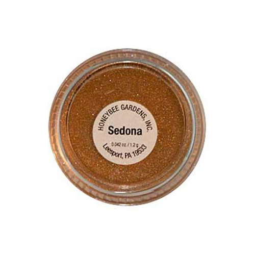 Honeybee Gardens PowderColors Stackable Mineral Color Sedona (1x2g)