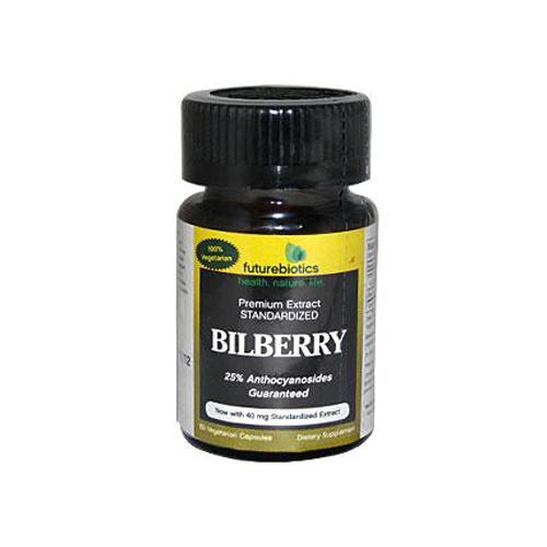 FutureBiotics BiLberry 140 mg (60 Capsules)