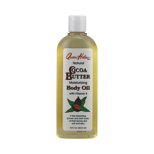 Queen Helene Natural Cocoa Butter Moisturizing Body Oil (10 fl Oz)
