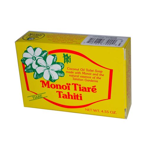 Monoi Tiare Tahiti Tahiti Soap Tiare 4.55 Oz