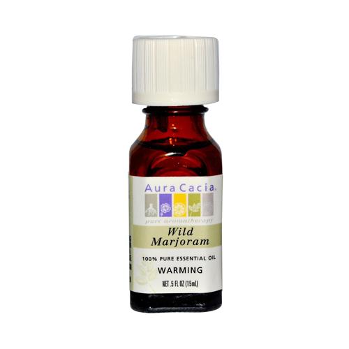 Aura Cacia Pure Essential Oil Wild Marjoram (0.5 fl Oz)