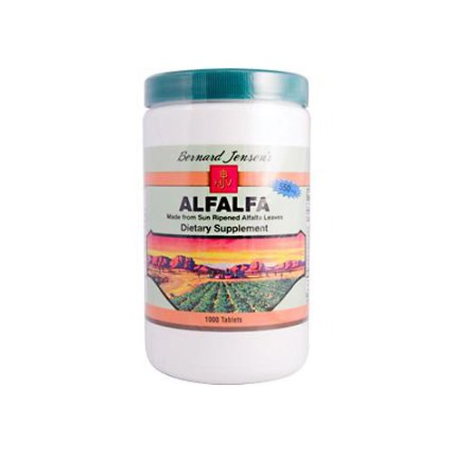 Bernard Jensen Alfalfa Leaf Tablets 550 mg (1x1000 Tablets)