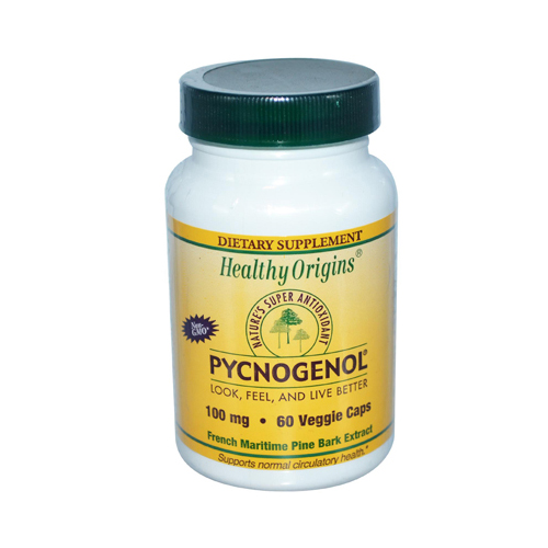 Healthy Origins Pycnogenol 100 mg (60 Veg Capsules)