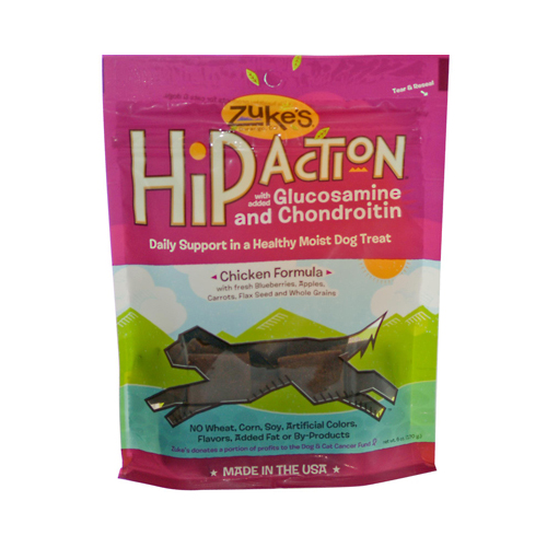Zuke's Hip Action Dog Treats Chicken Formula (12 x 6 Oz)