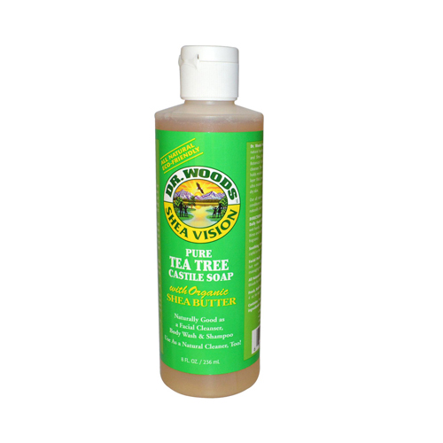 Dr. Woods Shea Vision Pure Castile Soap Tea Tree (8 fl Oz)