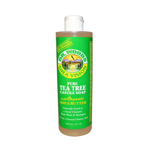 Dr. Woods Shea Vision Pure Castile Soap Tea Tree (16 fl Oz)