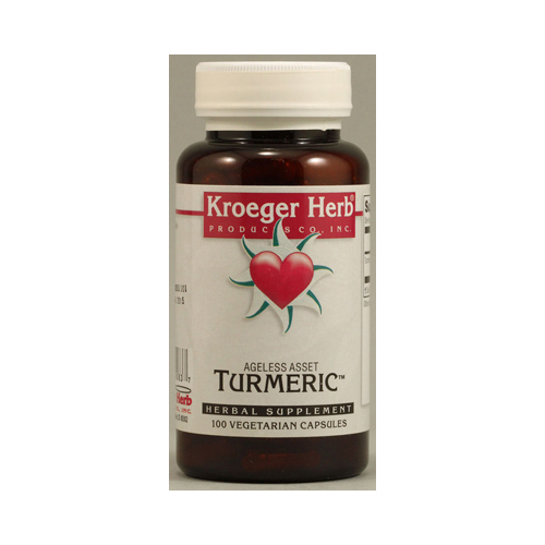 Kroeger Herb Turmeric (100 Veg Capsules)