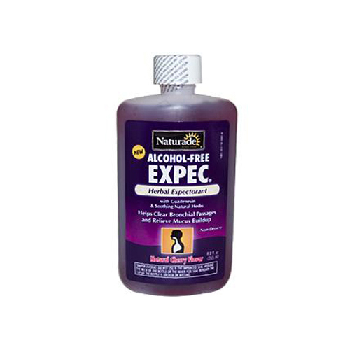 Naturade Alcohol-Free Herbal Expectorant Natural Cherry Flavor (1x8.8 Oz)