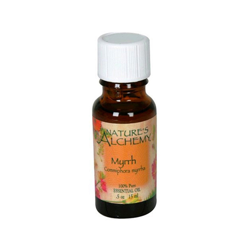 Nature's Alchemy 100% Pure Essential Oil Myrrh (0.5 fl Oz)