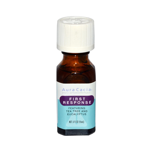 Aura Cacia Essential Solutions Oil First Response (0.5 fl Oz)