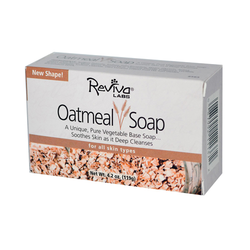 Reviva Labs Oatmeal Soap 4.5 Oz