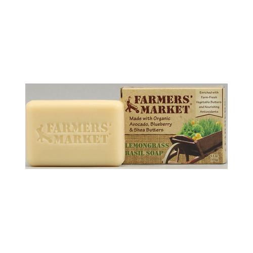 Farmer's Market Natural Bar Soap Lemongrass Basil (1x5.5 Oz)