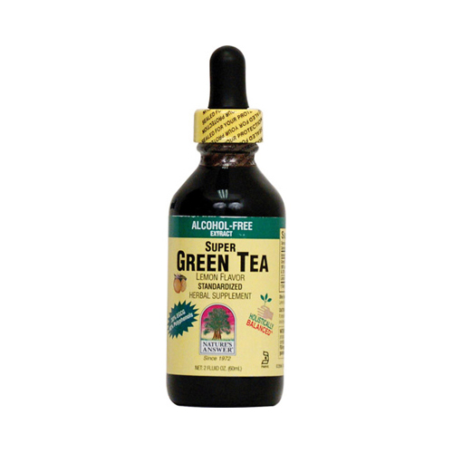 Nature's Answer Alcohol Free Super Green Tea with Lemon (1x2 Oz)
