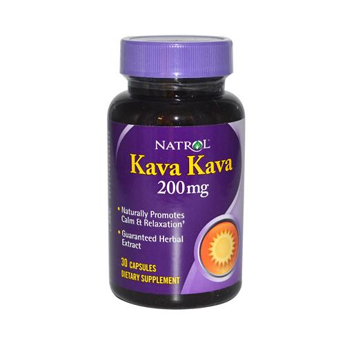 Natrol Kava Kava 200 mg (1x30 Caps)