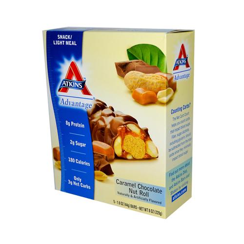 Atkins Advantage Bar Caramel Chocolate Nut (5 Bars)