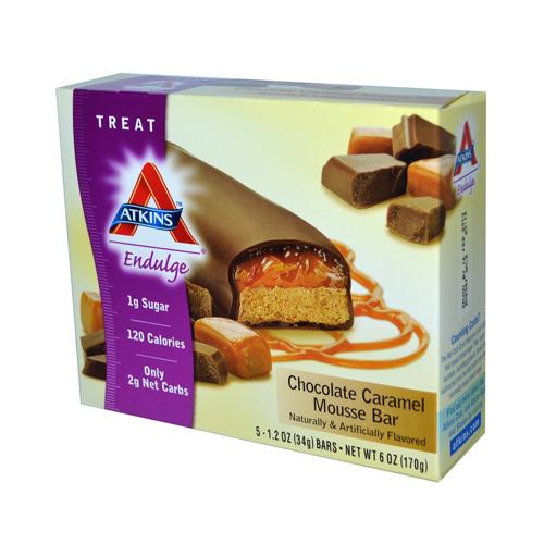 Atkins Endulge Bar Chocolate Caramel Mousse (1x5 Bars)